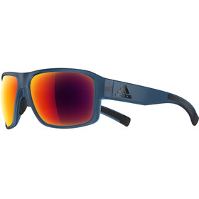 adidas Jaysor Sunglasses, blue matt/red